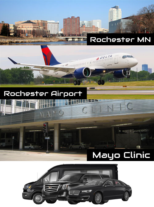 rocheser car limo van service mn